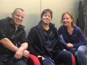 BBC Radio 3 broadcast with Bernadette Robinson and Joshua Bell