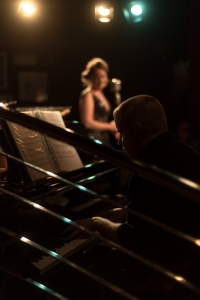 With Rebecca Louise Dale at the Pheasantry